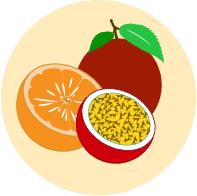 פסיפלורה ותפוז