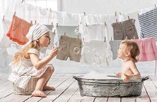 ילדים זה כביסה