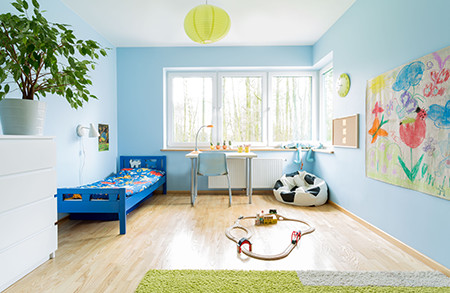 How to arrange the children's room