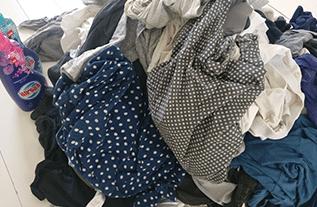 ערימות הכביסה שמחזירות אותנו למציאות